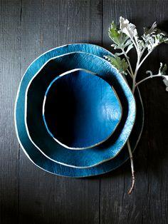 indigo ceramics