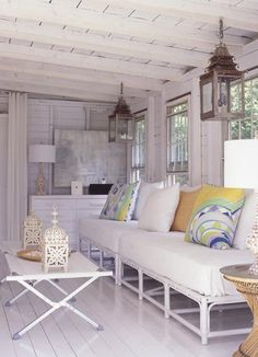 Modern Cottage Living Room By The Style Files.