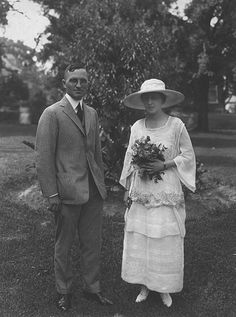 Harry Truman and Bess Wallace, June 28, 1919