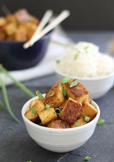 Crispy Sweet & Sour Tofu - Vegan