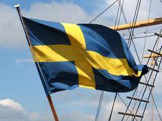 Das Design der schwedischen Flagge ist wahrscheinlich der dänischen Flagge nachempfunden. Die Farben der schwedische Flagge entstammen den Farben des Wappens der Königsfamilie. Die blaue Farbe ist die Grundfarbe des Wappens, gelb sind jeweils die drei Kronen und Streifen im Wappen - daher die blaue Grundfarbe mit dem gelben Kreuz.