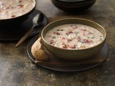 fire roasted tomato basil crab bisque