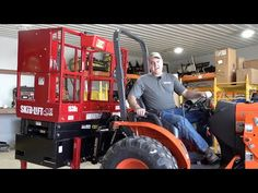 Tractor Scissor Lift! Removing Original Tractor Cab for Spring! - YouTube Tractor Cabs, Tractor Accessories, Tractors, The Originals, Spring, Youtube, Youtubers, Youtube Movies