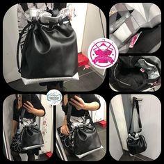 Izzie créations sur Instagram: Un calypso noir et gris sur demande ( modèle sacôtin sous licence ) . #sac #sacamain #sacamainfemme #sacbandouliere #bandoulierereglable…