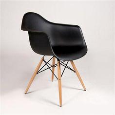 Silla Dimer de Réplicas de Diseño, negro