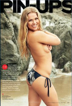 Ronda Rousey Hot | TFN Hot Chick: Ronda Rousey does Maxim