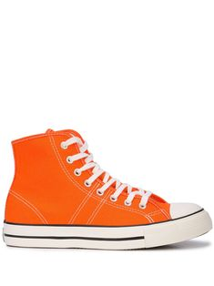 9b4a18475f2b CONVERSE CONVERSE LUCKY STAR HI-TOP SNEAKERS - ORANGE.  converse  shoes