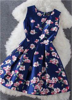 Floral Dress in Blue - classy dresses, fall dresses for women, cheap dresses for women *sponsored https://www.pinterest.com/dresses_dress/ https://www.pinterest.com/explore/dress/ https://www.pinterest.com/dresses_dress/dresses/ http://www.neimanmarcus.com/Womens-Clothing/Dresses/cat43810733/c.cat