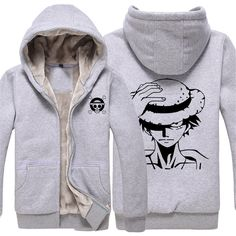 Vicwin-One One Piece Monkey·D·Luffy Logo Thick Hoodie Costume Cosplay (Size XXXL) >>> Check this awesome product by going to the link at the image.