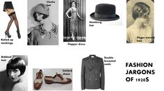 fashion jargons on 1920s