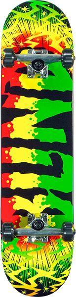 Blind Groovy Rasta Complete 7.6 Skateboard 1CBLI0GRVY762JJ