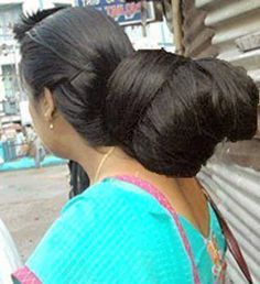 Great Indian bun - love it. Beauty is at every age and we can embrace God's gifts. A wife's long hair is just naturally beautiful, a glory to her and a joy to her partner/husband. Quit trying the artificial route and trust in how you were made