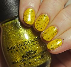 Candy Ginger by Sinful Colors Mint Candy, Bright Nails, Sinful Colors, Colorful Candy, Rock Candy, Candy Apples, Nail Tips, Silver Glitter, Some Fun