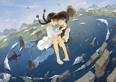 Laputa Castle In The Sky, Sheeta & Pazu, Studio Ghibli