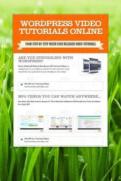 Wordpress Video TuTorials Online