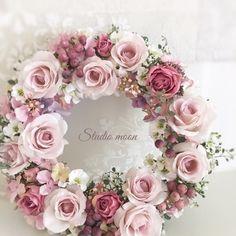 Diy Wreath, Door Wreaths, Felt Flowers, Paper Flowers, Easter Wreaths, Christmas Wreaths, Deco Floral, Door Design, Vintage Christmas