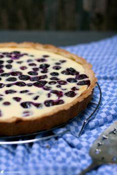 Finnischer Blaubeerkuchen | Cuisine Violette