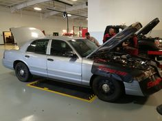 Propane conversion of a Crown Victoria police cruiser.