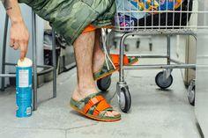 "People & Poler Release ""Lennon Chiller"" Sandals : Primed for summer lazing. Classic Style, Style Me, Lennon, Hypebeast, People, Flip Flops, Footwear, Fancy, Sandals"