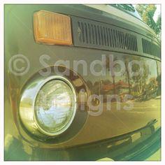 Chocolate VW bus #SandbarDesigns #VWBus #VW #BusPics #Volkswagen #BusyDreamin.com