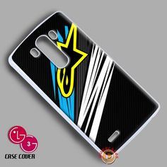 New Rare Alpinestars Graphic Logo Apparel Sport LG G3 Case Cover