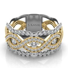 Diamond Ring by S.Kashi & Sons www.russellandballard.com