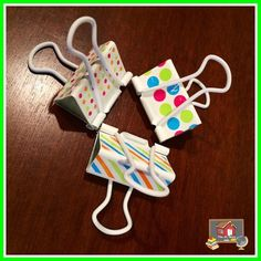 Binder Clip Center Signs