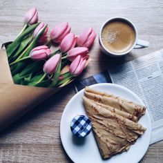 ✿Floralls✿ Coffee, Crepe, Lunch