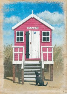 cute little beach hut Recommended by http://www.londonlocks.com/ London…