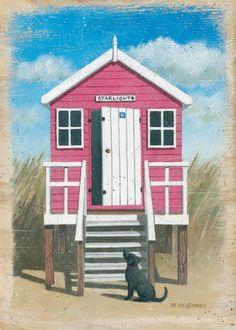 cute little beach hut x