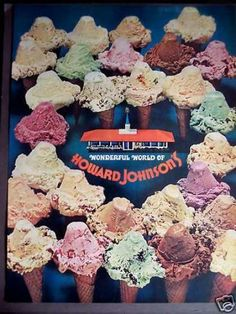 adds 60's Howard Johnson's Ice Cream (1963)