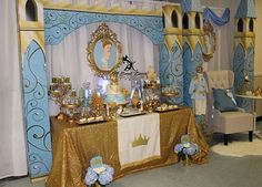 Prince Baby Shower Party Ideas | Photo 10 of 20 | Catch My Party
