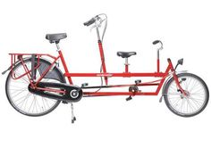 The ultimate Lilou Dad bike - called the Tandemtransporter
