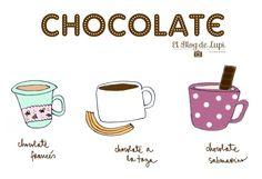 Tip de invierno: Chocolate caliente  http://elblogdelupi.com/