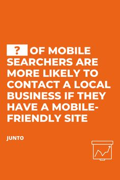 📊 Learn how many mobile searchers will contact a local business if they have a mobile-friendly site Customer Experience, Digital Marketing, Improve Yourself, Believe, Statistics, Learning, Business, Studying, Teaching