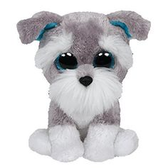 TY Beanie Boos Whiskers the Schnauzer Small 6