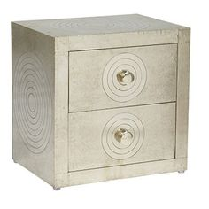 Taj 2 Drw Circle Bedside - Bedroom - Browse By Category - SM Interiors