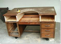 "Jewelers ""Franken"" bench. Because 700 bucks is far too much to spend on something I'll beat the heck out of."