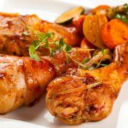 Gebakken kippendijen    Spicy baked chicken :)