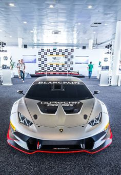 Lamborghini Huracan Super Troffeo Blancpain - wouldn't mind one of these as a track day car! :)
