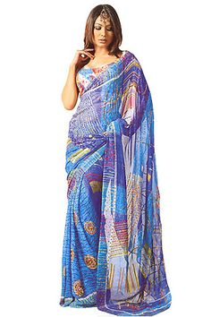 A sari is a type of clothing for women. It is mostly used in India.  I would wear them though!