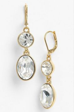 REVEL: Gold Drop Earrings