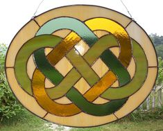 Celtic Wedding Knot  stained glass. . . MOM!! Make this for me!