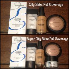 Makeup for oily skin. Oil control moisturizer, primer, foundation, powders! Mac Makeup, Love Makeup, Oily Skin Makeup, Makeup Moisturizer, Makeup Contouring, Makeup Hacks, Makeup Goals, Makeup Eyeshadow, Makeup Cosmetics