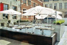 Een terrasje doen op een warme zomerdag, zie je het al voor je?