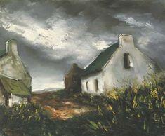 "Maurice de Vlaminck 1876-1958 "" Bretagne de la côte """