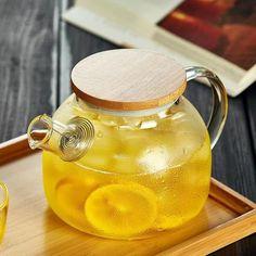 Large Capacity Transparent Heat Resistant High Borosilicate Glass Tea Pot with Filter Kung Fu Tea Set Teapot Kettle Kung Fu, Zen Tea, Heat Resistant Glass, Glass Teapot, Tea Culture, Kitchen Room Design, Flower Tea, Dessert Drinks, Tea Set