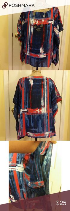 Beautiful Jones New York Blouse Size Large Lightweight and airy pullover blouse from Jones New York.  Size Large  Clean and in excellent condition!   #plussize #plussizefashion #plussizetop #sizelarge #jonesnewyork Jones New York Tops Blouses