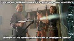 Preacher was Bad-Ass.