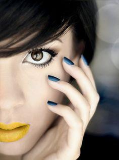 Yellow Lipstick  #makeup #lipstick